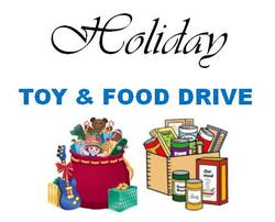 Annual Toy and Food Drive