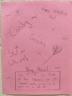 UPCOMING CANDY GRAM SALES!